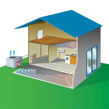 le principe de fonctionnement d 39 une pompe chaleur eed. Black Bedroom Furniture Sets. Home Design Ideas