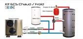 Pompe à Chaleur PAC Inox Aérothermie et Géothermie