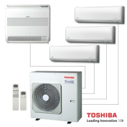 Climatiseur MultiSplits TOSHIBA Inverter